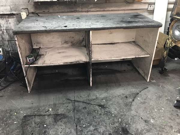 Magnificent Work Bench We Have 2 To Sell The Dimensions Are 6 Ling By 3 Ft Wide Onthecornerstone Fun Painted Chair Ideas Images Onthecornerstoneorg