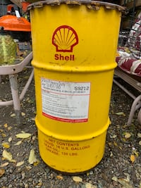 16 gal shell oil vintage steel drum Phillipsburg, 08865