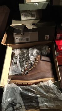 Official timberland mens/hommes size 10 and size 9