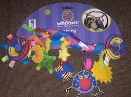 Colorful Whoozit toy