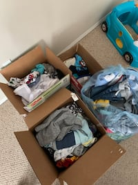 Large Collection of Baby Boy Clothes Edmonton, T6T 1W9