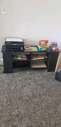 Black tv stand or shelves