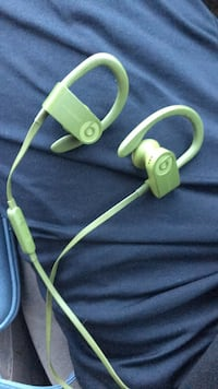 green and white Beats by Dr Alexandria, 22315