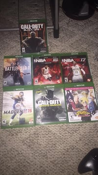 Xbox One Games For Sale  Coaldale, 18218