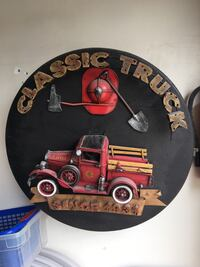 Great Man cave 1931 Classic Truck Hanging Wall Display Beautiful Antique Looking Monterey Park, 91754