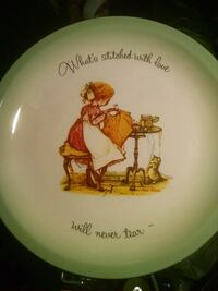 Vintage Holly Hobbie collectors edition plate Kansas City, 64119