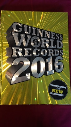 Guinness World Records 2016 book