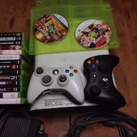 two black and white Xbox 360 controllers Atwater, 95301
