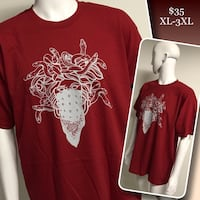 Burgundy Crooks & Castles tees available  Winnipeg, R2M 2T7