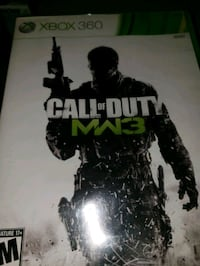 Call of Duty MW3 Xbox 360 game case Newport, 41071
