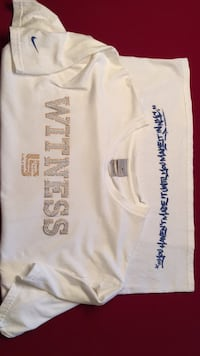 Nike Witness Size Large White North Olmsted, 44070