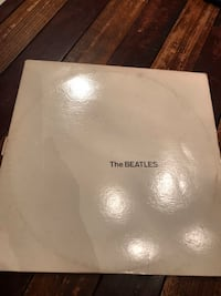 Beatles white album, white vinyl, Capitol records. Never played. With poster Philadelphia, 19128