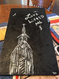 17.5 by 10 on wood love lifted me Thibodaux, 70301
