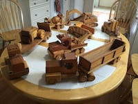 Collectable wood toys Newmarket, L3Y 5S2