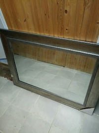 brown wooden framed wall mirror Saint Catharines, L2M 5A6