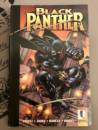 Black Panther Enemy Of The State 2001 Comic