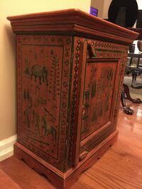 Hand Painted Decorative Hutch Mississauga