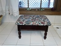Hinged tapestry foot stool. 14 by 10 inches. 9 inches  tall. Las Vegas, 89118