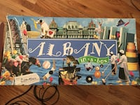 Albany monopoly board game