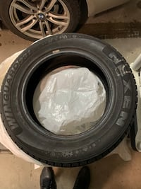 4 almost new winter tires used half a season  Vaudreuil-sur-le-Lac, J7V 8P3