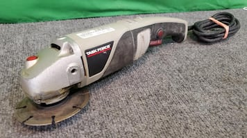 Task Force 4-1/2-in 7-Amp Sliding Switch Corded Angle Grinder
