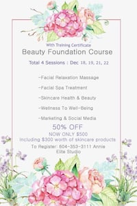 Foundation beauty course