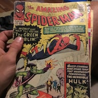 Marvel Comics The Amazing Spider-Man comic book null