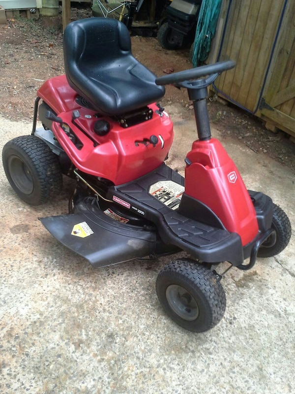 Used 2012 Craftsman Riding Mower Read Info For Sale In