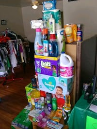 assorted home cleaning products Killeen, 76541