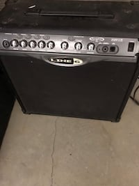 black and gray Line 6 guitar amplifier Salinas, 93907