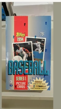 1994 Topps Series 1 Wax Box FACTORY SEALED 36 Packs Gold FASC 7 avail Beltsville, 20705