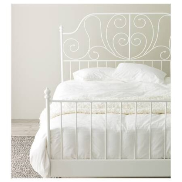 Used Moving: ikea leirvik bed frame for sale - $50 (rancho cucamonga ...
