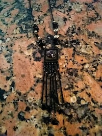 Black and gold Indian style necklace College Park, 20740