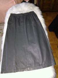 Leather skirt small waist (Italian leather)