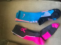 Blue and pink nike socks Winton, 95388