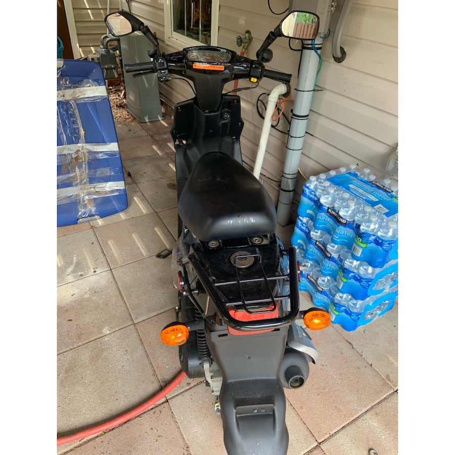 Black Beamer iii (Beamer 50) scooter 4