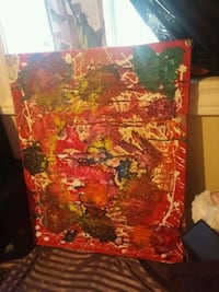 Abstract painting. Waterloo, N2L 4S4