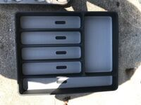 black and gray plastic organizer Fort Myers, 33908