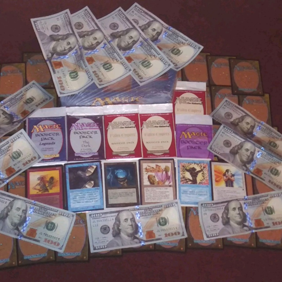 Photo $cash$ for your old Magic The Gathering cards