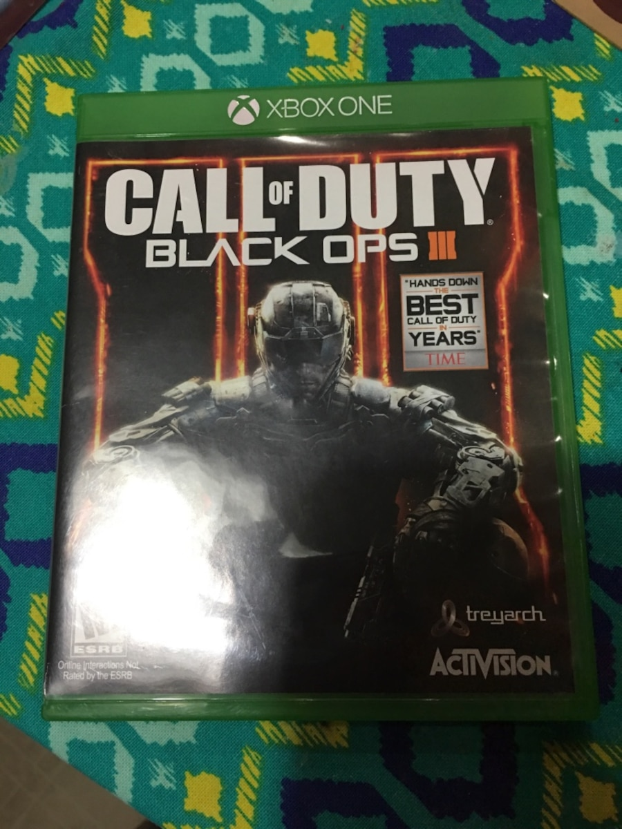 Xbox One Call Of Duty Black Ops 2 Used Xbox One Call of ...