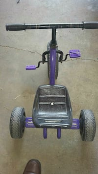 toddler's purple and black trike Edmonton, T5Y 2N4