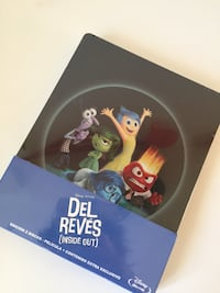 Blu ray INSIDE OUT (Del Reves)