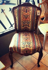 """French Style Chair (20x16x38""""H) Port Coquitlam, V3C 2A1"""