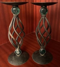 "Decorative Candle Sticks (11.5"" High)"
