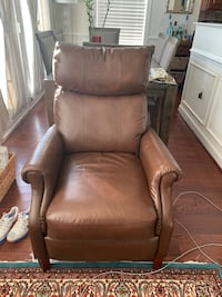 Brown Leather Recliner - 3 Level Setting Herndon, 20171