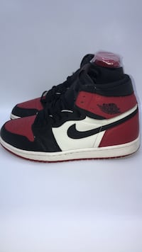 Air jordan 1 bred toe  Arlington, 22204
