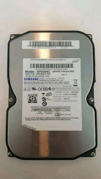 Samsung SpinPoint SP2004C 200GB SATA/300 7200RPM 8MB Hard Drive