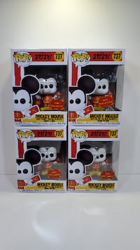 Funko Pop! Disney 2020 #737 Mickey Mouse Asia Exclusive New Years Richmond Hill