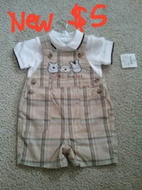 Baby boy outfit. Size 3-6 months.  Coats, 27521