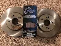Acura RDX 07-12 Brand New Rotors and Pads